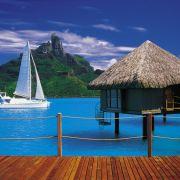 Kann es eine schönere Unterkunft für die Hochzeit geben? Tahitis Wasserbungalows sind weltberühmt.