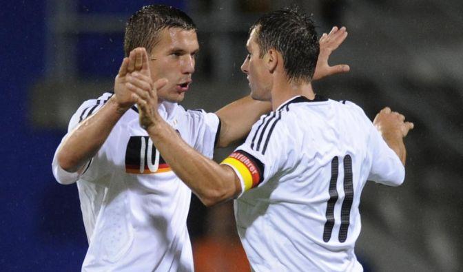 Klose und Podolski (Foto)