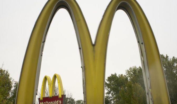The golden arches of McDonalds (Foto)
