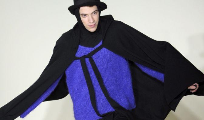 Mit Hut, aber dafür etwas weniger extravagant: die Herbst-Winter-Kollektion von Agnes B.