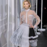 Die Designer des Modelabels Christian Dior stehen auf Transparenz.