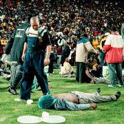 Massenpanik in Johannesburg