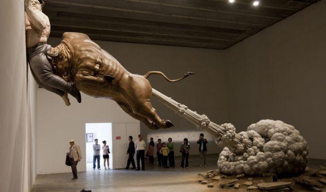 Bulle furzt Madoff an die Wand (Foto)