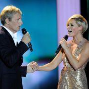 Sie ist für die Hörzu die beste deutsche Musikerin: Helene Fischer singt als Dank für den Preis mit Michael Bolton.