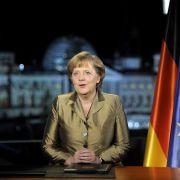 Anfang 2011 durfte auch die Kanzlerin ran, allerdings nicht die echte.