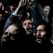 «General News» heißt die Kategorie, in der dieses Foto den ersten Preis gewann. Alex Majoli aus italien zeigt Demonstranten auf dem Tahrir Platz in Kairo.
