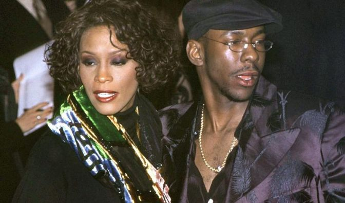 Bobby Brown und Whitney Houston (Foto)