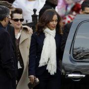 Auch Alicia Keys erwies Whitney Houston die letzte Ehre: Sie widmete ihren Song Send Me An Angel der verstorbenen Sängerin.