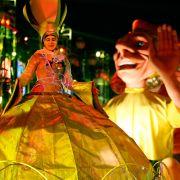 Auch Frankreich wird janz jeck. In Nizza wurde in diesem Jahr der 128. Karneval gefeiert.
