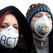 In Berlin fanden sich unter dem Motto «Gemeinsam können wir Acta stoppen!» mehr als 2.000 Menschen ein.