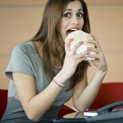 Mittagspausen-Fehler: Zu schnell essen