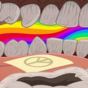 Platz 14: LSD ist die Droge der Hippie-Ära. Sie steigert die Selbstwahrnehmung, gilt aber auch als eines der stärksten Halluzinogene, das schon bei sehr geringen Mengen starke Halluzinationen auslöst.