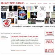 Der Berliner Betriebswirt Stefan Schridde sammelt auf seinem Blog murks-nein-danke.de Fälle von geplanter Obsoleszenz. In einem sogenannten Murks-Barometer möchte er anschließend darstellen, welche Hersteller besonders häufig pfuschen.
