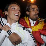 Weltstars in Madrid: Mesut Özil und Sami Khedira