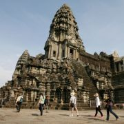 Die Kambodschanische Stadt Siem Reap landet auf Platz 9 der beliebtesten Städte. Der Grund: Sie liegt der beeindruckenden archäologischen Sehenswürdigkeit Park Angkor am nächsten.