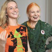Die Modepunkerin Vivienne Westwood steht offensiv zu ihren Falten.
