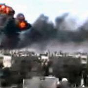Rebellen-Hochburg unter Beschuss: Am 4. Februar 2012 wird aus Homs das schlimmste Blutbad seit Beginn der Proteste gemeldet.