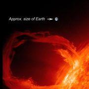 Extreme Sonnenstürme: Sie treffen die Erde etwa alle 80 Jahre, so das Fachblatt Space Weather. Zuletzt sorgte am 1. September 1859 ein solcher Sonnensturm für Polarlichter bis nach Süditalien, Kuba und Hawaii.