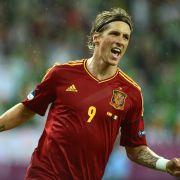 Platz 15: Auch Fernando Torres hat Grund zur Freude, schaut er auf seinen Kontoauszug. Der Spanier verdient bei Atletico Madrid 18,3 Millionen Dollar (16,1 Millionen Euro).