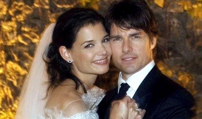 Mit einer wahren Märchenhochzeit hatten Tom Cruise und Katie Holmes am 18. November 2006 in Italien geheiratet. (Foto)