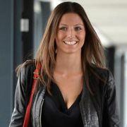 Silvia Meichel ist für die news.de-User die schönste Spielerfrau der EM 2012.
