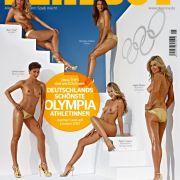 Der Playboy zeigt in der aktuellen Ausgabe die sexy Goldnixen.