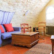 Auch in der Lodge ist alles klein und gemütlich wie in einem Schneckenhaus. Die Nacht kostet hier je nach Saison zwischen 115 und 145 Euro.