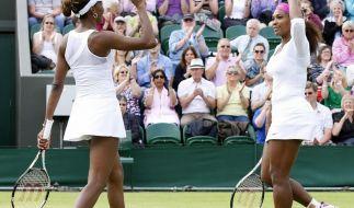 Erstmals seit 2009 kommt es bei einem Grand Slam Turnier zum Duell der Williams-Schwestern Serena und Venus. (Foto)