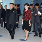 Viel ist über die Gattin von Kim Jong Un, Ri Sol Ju, ohnehin nicht bekannt.