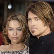 Miley Cyrus und Papa