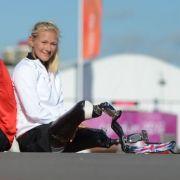 Paralympics-Traumpaar aus Leverkusen: Markus Rehm und Vanessa Low.