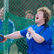 Einst Olympiasiegerin, nun Paralympics-«Nachwuchs»: Ilke Wyludda.