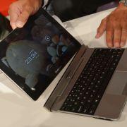 Android-Tablet mit abnehmbarer Tastatur