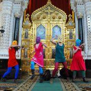 Der Stein des Anstoßes: Am 21. Februar hielten Pussy Riot ihr legendäres Punk-Gebet in der Erlöser-Kathedrale in Moskau ab.