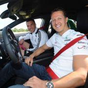 Chauffeur Michael Schumacher
