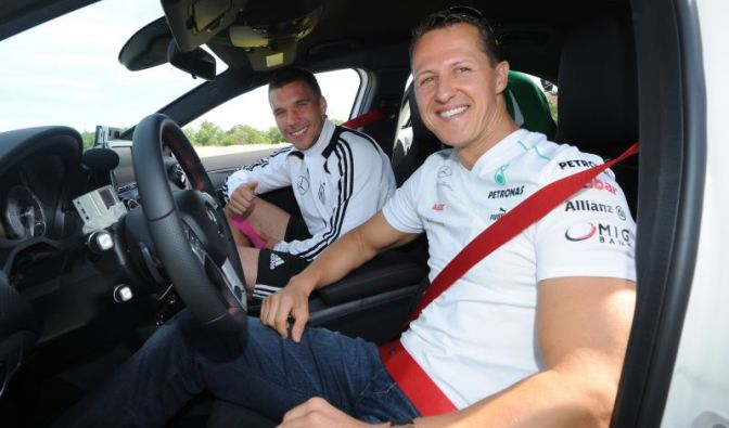 Chauffeur Michael Schumacher (Foto)