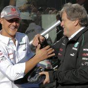 Norberg Haug (Mercedes-Motorsportchef): «Unser Team, Mercedes-Benz und Daimler bedanken sich herzlich bei Michael für all seine Arbeit, seine beispielhafte Hingabe und seine Loyalität.»