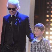 Auch Modedesigner Karl Lagerfeld gab sich bei der Premiere von Markus Lanz die Ehre.