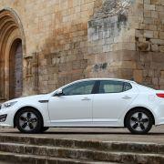 Die besten Bilder zu Kia Optima Hybrid: Gemach! Gemach!