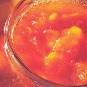 Pfirsich-Aprikosen-Konfitüre, kalorienreduziert