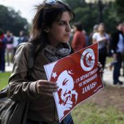 Lina Ben Mhenni ist eine der arabischen Frauen, die während der Jasmin-Revolution durch ihre Blogs bekannt wurden.
