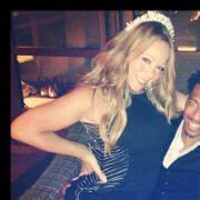Mariah Carey twittert sich mit Ehemann Nick Cannon