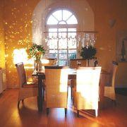 Feierliche Stimmung lässt sich in diesen Räumen leicht erzeugen.