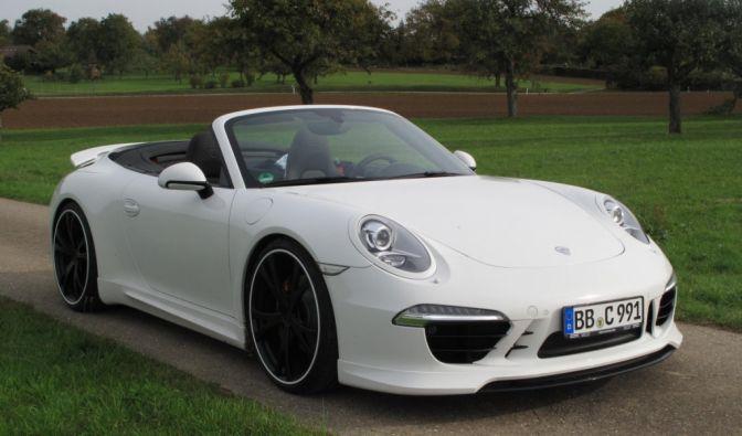 Die besten Bilder zu Techart Porsche 911 Cabrio: Auf die harte Tour