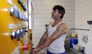 Harry W. arbeitet in der JVA Mannheim in der Wäscherei. Rentenbeiträge werden nicht für ihn gezahlt. (Foto)