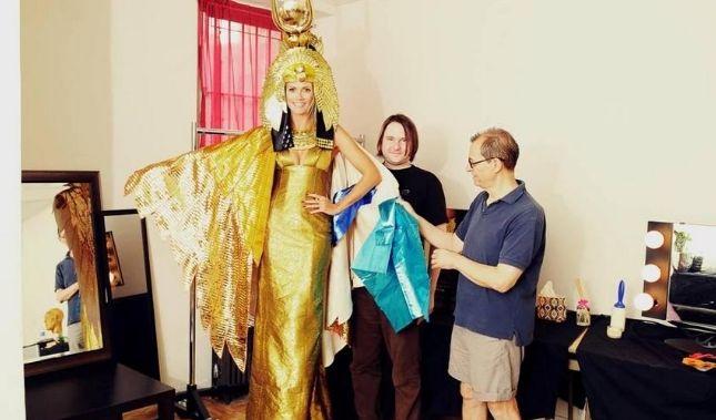Heidi Klum will sich zu Halloween in Cleopatra verwandeln.