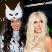... LaLa Anthony (l.) und Kim Kardashian.