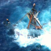 Das berühmte Filmschiff «Bounty» wurde durch den Tropensturm zerstört. Mindestens ein Mensch kam dabei ums Leben.