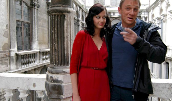 Die erste Frau an Daniel Craigs - alias James Bond - Seite war die wilde Vesper, gespielt von Eva Green. (Foto)