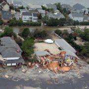 Schäden von mehr als 20 Milliarden Dollar durch «Sandy»